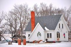 Maison de neige Photo libre de droits