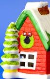 Maison de neige de Noël photos libres de droits