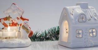 Maison de Noël Photo libre de droits