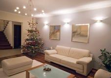 Maison de Noël photographie stock