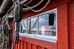 Maison de pêche Photographie stock