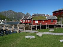 Maison de pêcheur Images libres de droits
