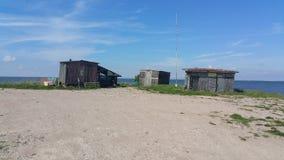 Maison de pêcheur Image libre de droits