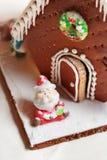 Maison de pain d'épice Photographie stock