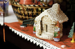 Maison de pain d'épice Photo stock