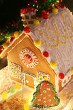 Maison de pain d'épice Images libres de droits