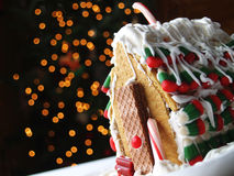 Maison de pain d'épice photo libre de droits