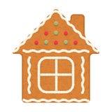 Maison de pain d'épice Photographie stock libre de droits