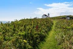 Maison de phare et de gardien Image libre de droits