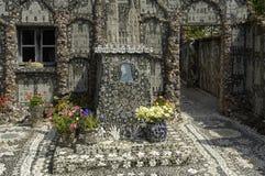 Maison de Picassiette images stock