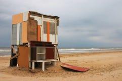 Maison de plage Photographie stock libre de droits