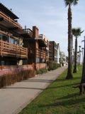 Maison de plage de Venise Photographie stock libre de droits