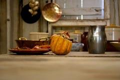 Maison de plantation kitched Images stock