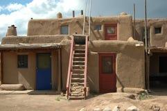 Maison de pueblo Photo libre de droits