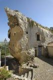 Maison de roche Photos libres de droits