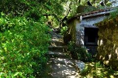Maison de roche Photographie stock libre de droits