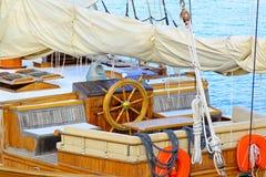 Maison de roue de bateau Image stock