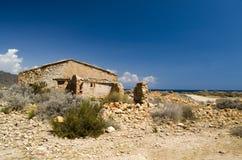 Maison de ruine Photographie stock