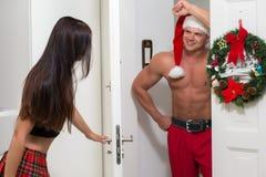 Maison de Santa Claus Photographie stock libre de droits