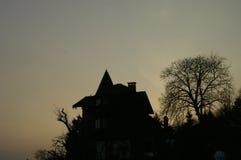 Maison de sorcière Photographie stock
