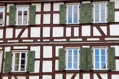 Maison de style de Tudor photo libre de droits
