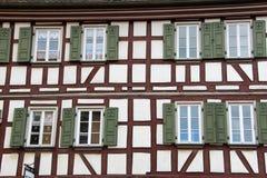 Maison de style de Tudor photos stock
