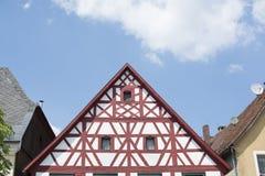 Maison de style de Tudor - propriété magnifique au coeur de l'Allemagne images stock