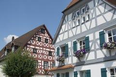 Maison de style de Tudor - propriété magnifique au coeur de l'Allemagne photos stock
