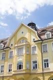 Maison de style de Tudor - propriété magnifique au coeur de l'Allemagne photo libre de droits
