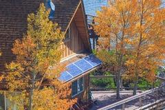 Maison de Sunpower Photographie stock libre de droits