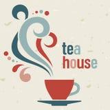 Maison de thé Images stock