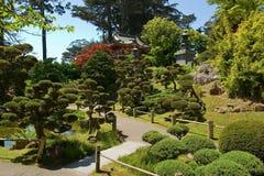 Maison de thé japonaise image stock