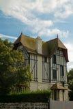 Maison de Tipical de Normandie Photo stock