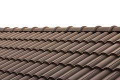 Maison de toit avec le toit carrelé image libre de droits