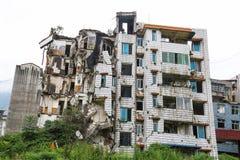 Maison de tremblement de terre Image libre de droits