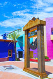 Maison de Tucson Adobe Image stock