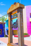 Maison de Tucson Adobe Photographie stock
