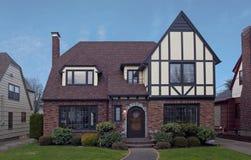 Maison de Tudor Images stock