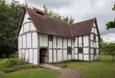 Maison de Tudor, Angleterre photo libre de droits