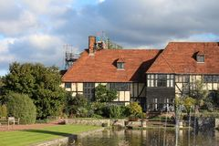 Maison de tudor de Wisley de jardin de RHS images stock