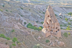 Maison de tuf de Cappadocia image libre de droits