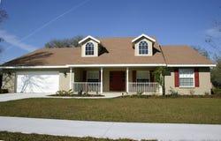 Maison de type de ranch Image stock