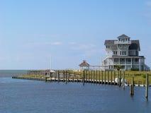 Maison de vacances portuaire Images libres de droits