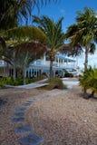 Maison de vacances tropicale Images libres de droits