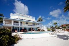 Maison de vacances tropicale image stock