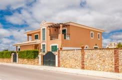 Maison de villa à Lagos, Portugal Photographie stock libre de droits