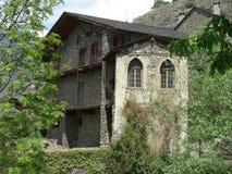 Maison de village Image libre de droits