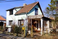 Maison de village rural dans Czechia photo stock