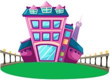 Maison de ville Image libre de droits