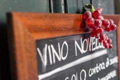 Maison de vin Photos libres de droits